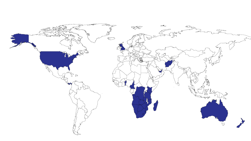 Absolute Ablutions is proud to service these local and international markets