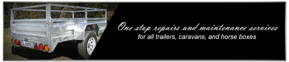 one-stop repairs and maintenance workshop for all trailer, caravan and horse-box owners, at highly competitive rates banner image for desktop
